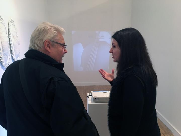 Len Bellinger and Deborah Kapoor - photo credit: Denise Sfraga