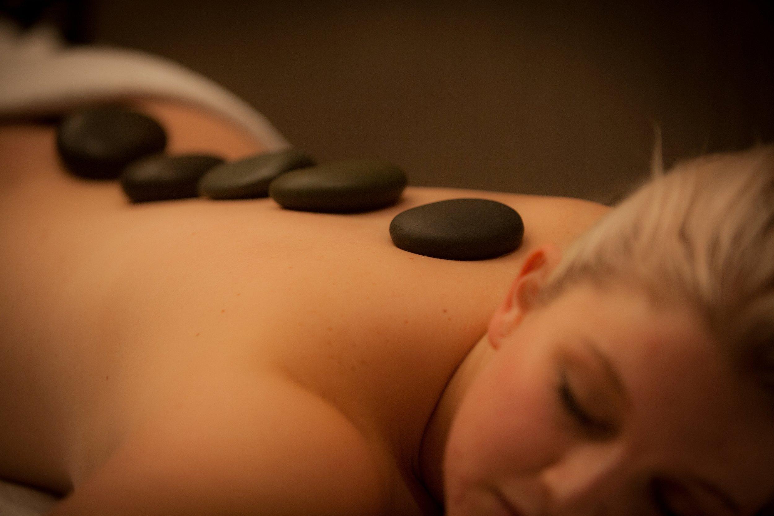 Hot Stone Massage at Castaways Resort's Bersantai Day Spa.JPG