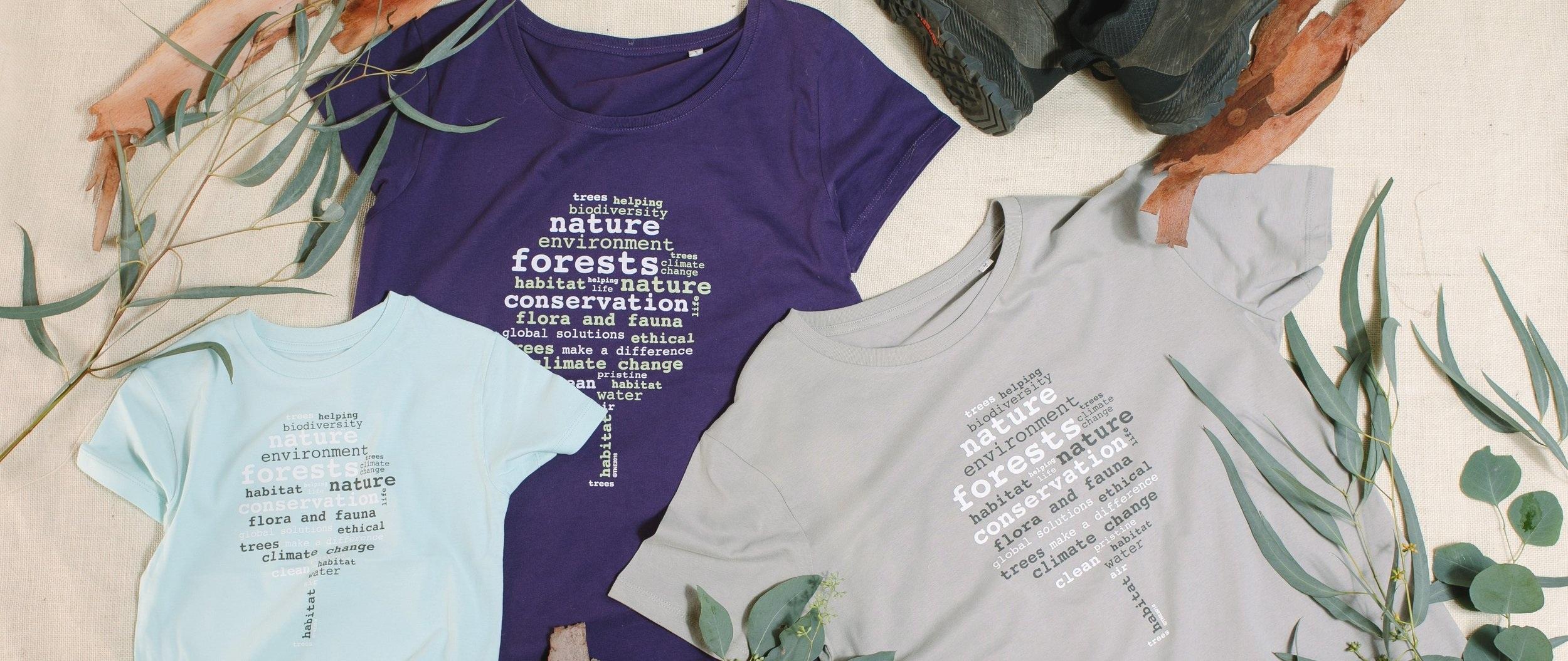 word tree t-shirt