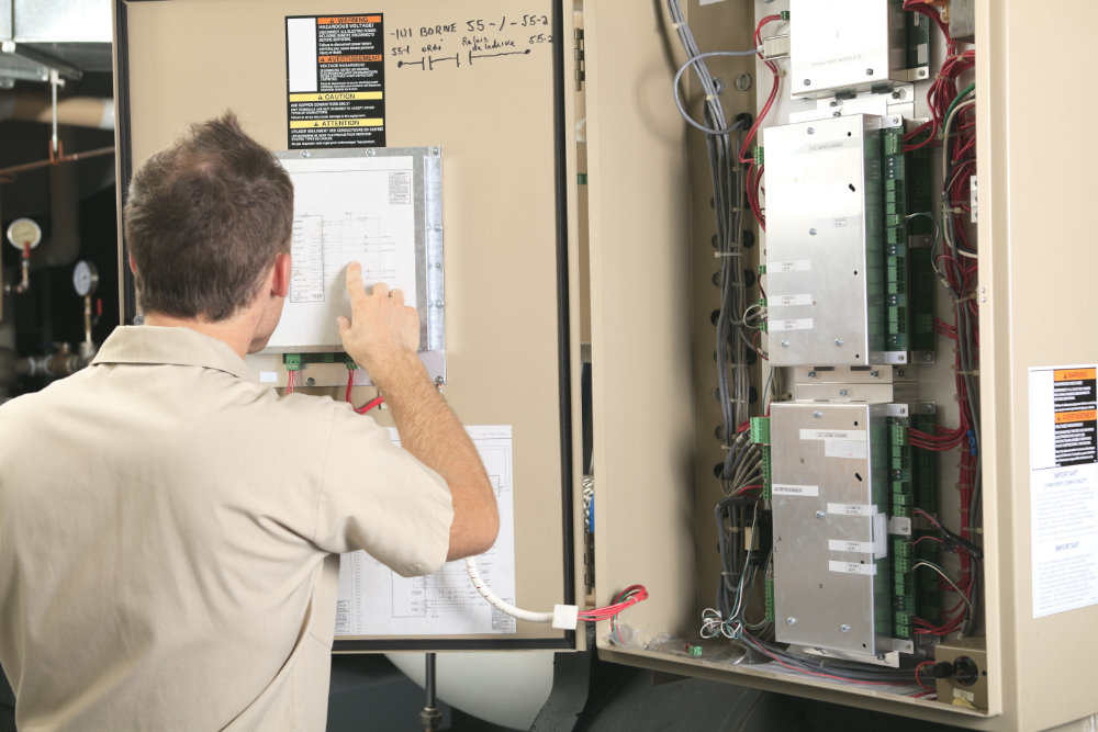 COMMERCIAL - we install, repair and upgrade electrical systems on Commercial, Industrial and Condominium properties.