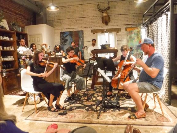 Oboe Quartets live at the Rat on Bull in Savannah, GA!