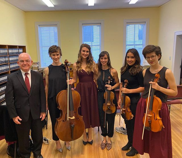 We loved working with the incredible @mikkisods on our recital of Respighi, Chausson and Strauss last night as part of @savphilharmonic Larsen Spotlight Series. Thank you to the Savannah Philharmonic and Lutheran Church of the Ascension for making it possible!