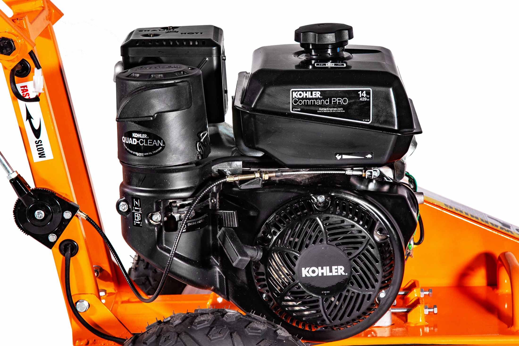 FEATURING KOHLER COMMAND PRO ENGINES -