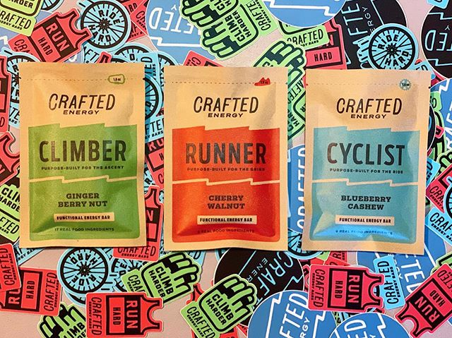 Every purchase comes with some rad scratch & sniff stickers. They smell JUST like real plastic, but please don't try to eat them. . . #craftedenergy #functionalenergy #functionalnutrition #cycling #climbing #running #traithlete #climbingnutrition #cyclingnutrition #runningnutrition  #eatsmart #cleaneating #foodisfuel #ridefuel #runfuel #climbingfuel #plantpoweredathlete #plantbasedathlete #veganathlete