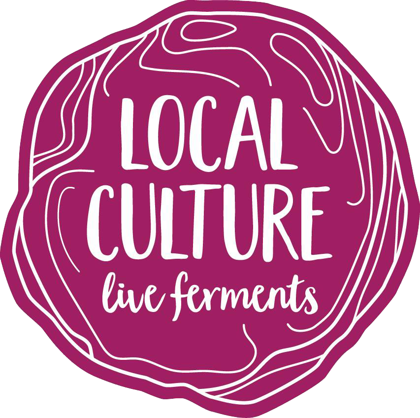 - At Local Culture we are committed to cultivating live foods for living well. To support our thriving communities, we ferment quality organic ingredients from locally sourced agriculture. Loaded with cultured macrobiotics, our krauts will make both your belly and palate smile. Also, the NC Kombuchary kombucha will bring a smile!