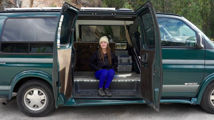 Vegan Earth and Soul - Anna is a recent high school grad traveling the United States in a self converted 1997 Chevy Gladiator camper van experiencing a life of freedom and sharing stories, experience and advice with her YouTube audience