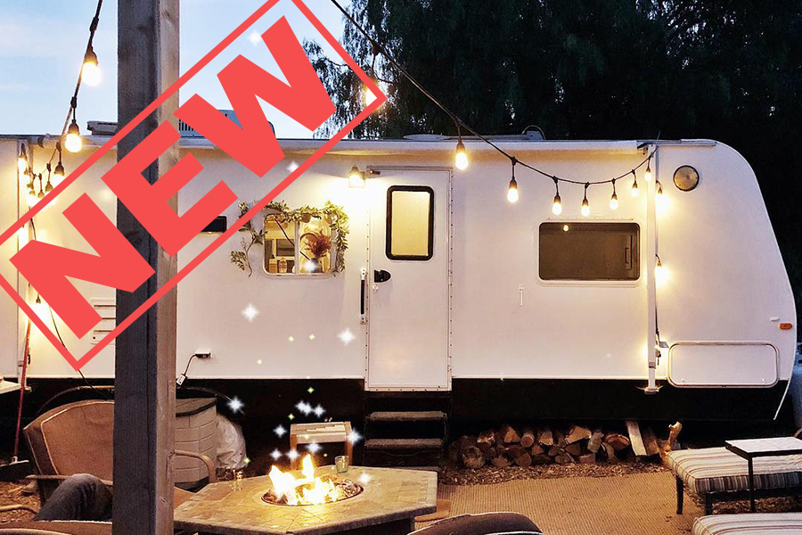 Arrows and Bow - Ashley and Dino bought a plot of land to build a house, and during the process, they decided to buy an old RV out to renovate and turn into a beautiful tiny home for their family of five.