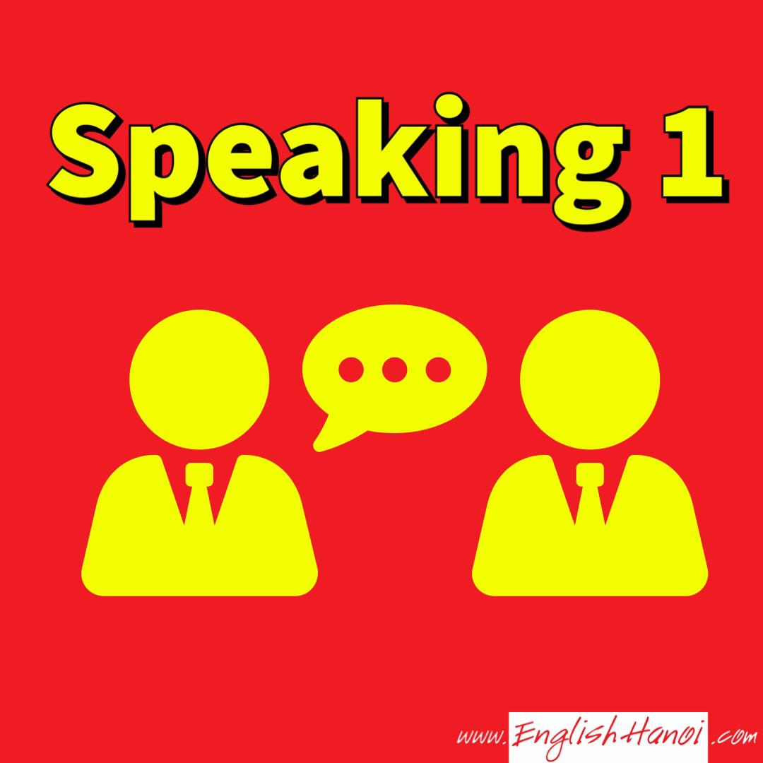 IELTS Speaking Phần 1    Bạn gặp khó khăn để nâng điểm số IELTS? Hệ thống videos trong mục này sẽ hướng dẫn bạn chính xác cách chinh phụ phần I bài thi IELTS kỹ năng nói.