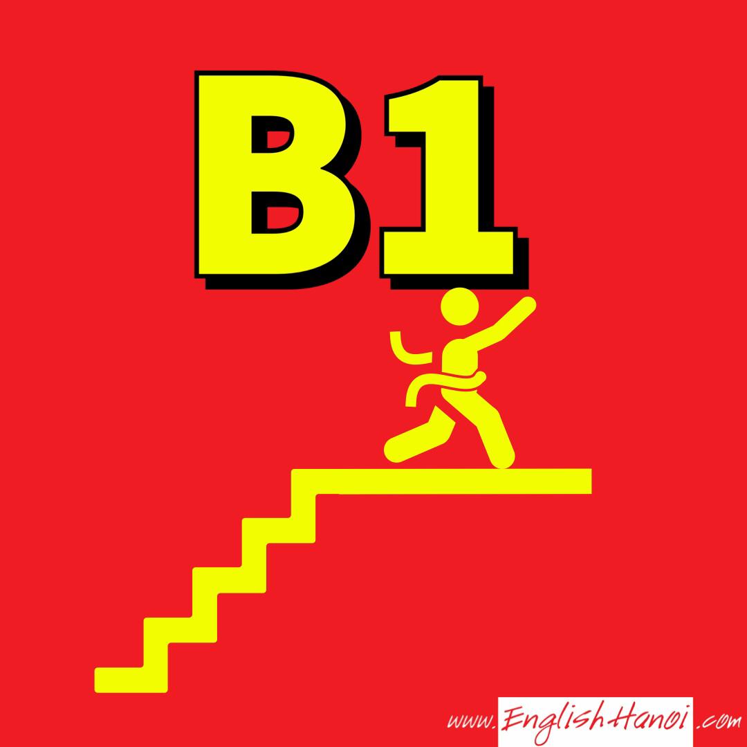 Tiếng Anh B1     Đối tượng : Trên sơ cấp - Trung cấp   Mục đích : Thành thạo Giao Tiếp Tiếng Anh Quốc tế   Hình thức : Online kết hợp Offline   Độ dài khóa học : 2 tháng