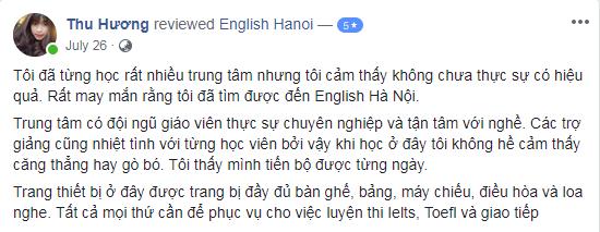 Ms Thu Hương - Đại học Thương Mại - Hà Nội - Lớp A2, IELTS Solid