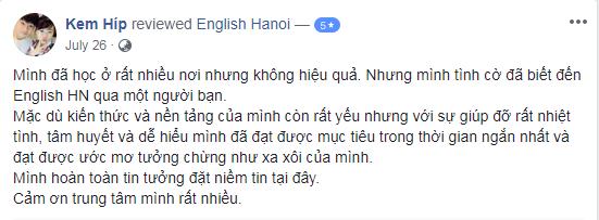 Ms Thùy - Nhân viên Ngân Hàng - Hà Nội - Lớp A2 & IELTS Speaking