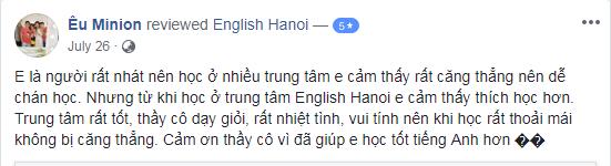 Ms My - Đại học Hà Nội - Hà Nội - Lớp A1 & A2