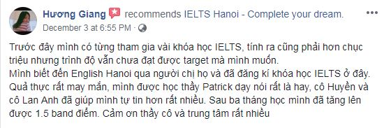 Ms Giang IELTS combo 6.5
