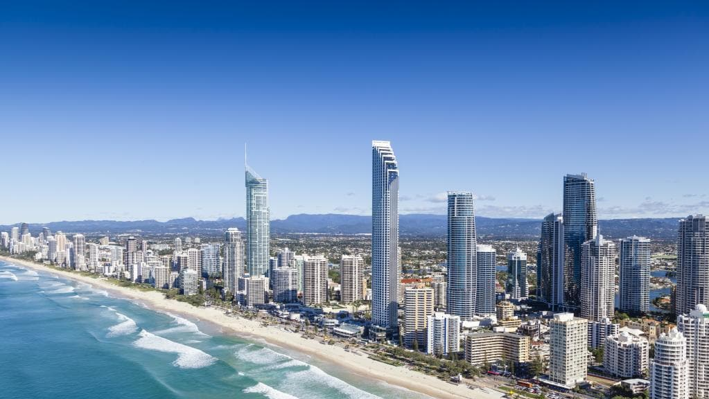 The Gold Coast Skyline