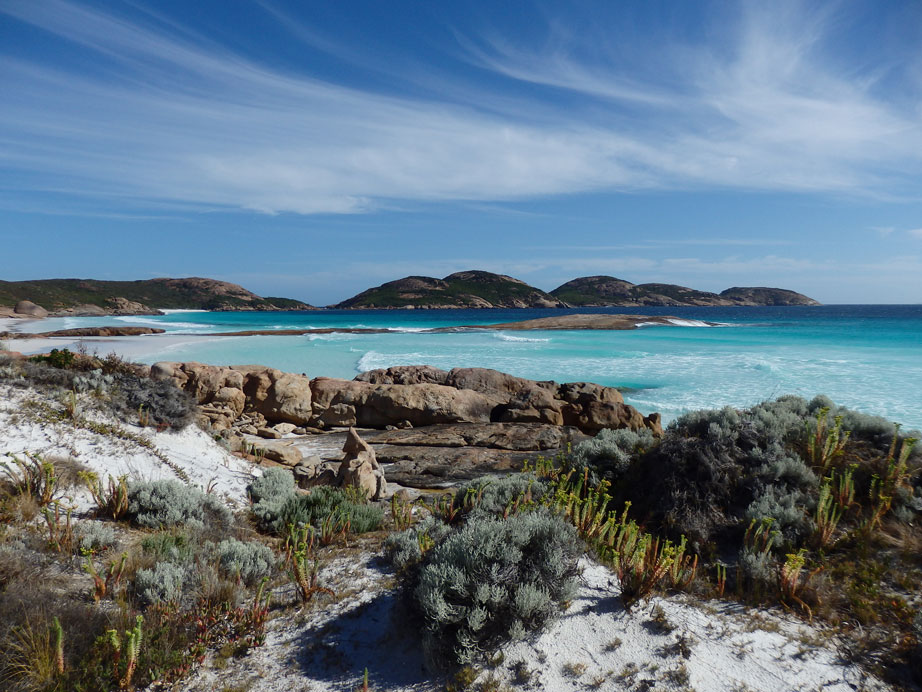 Lucky Bay, in the Cape Le Grand National Park