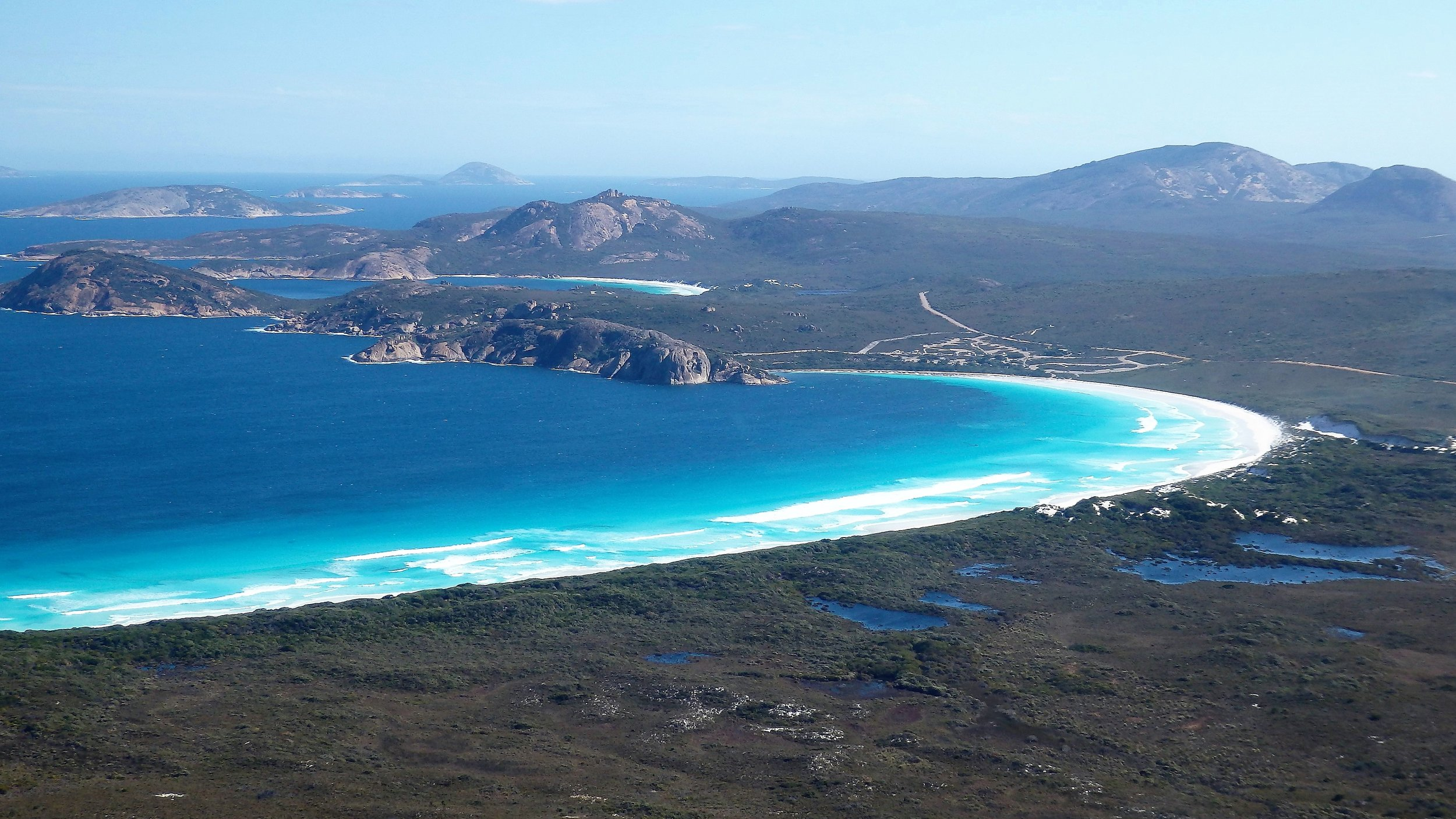 Cape Le-Grand National Park with Lucky Bay in the foreground