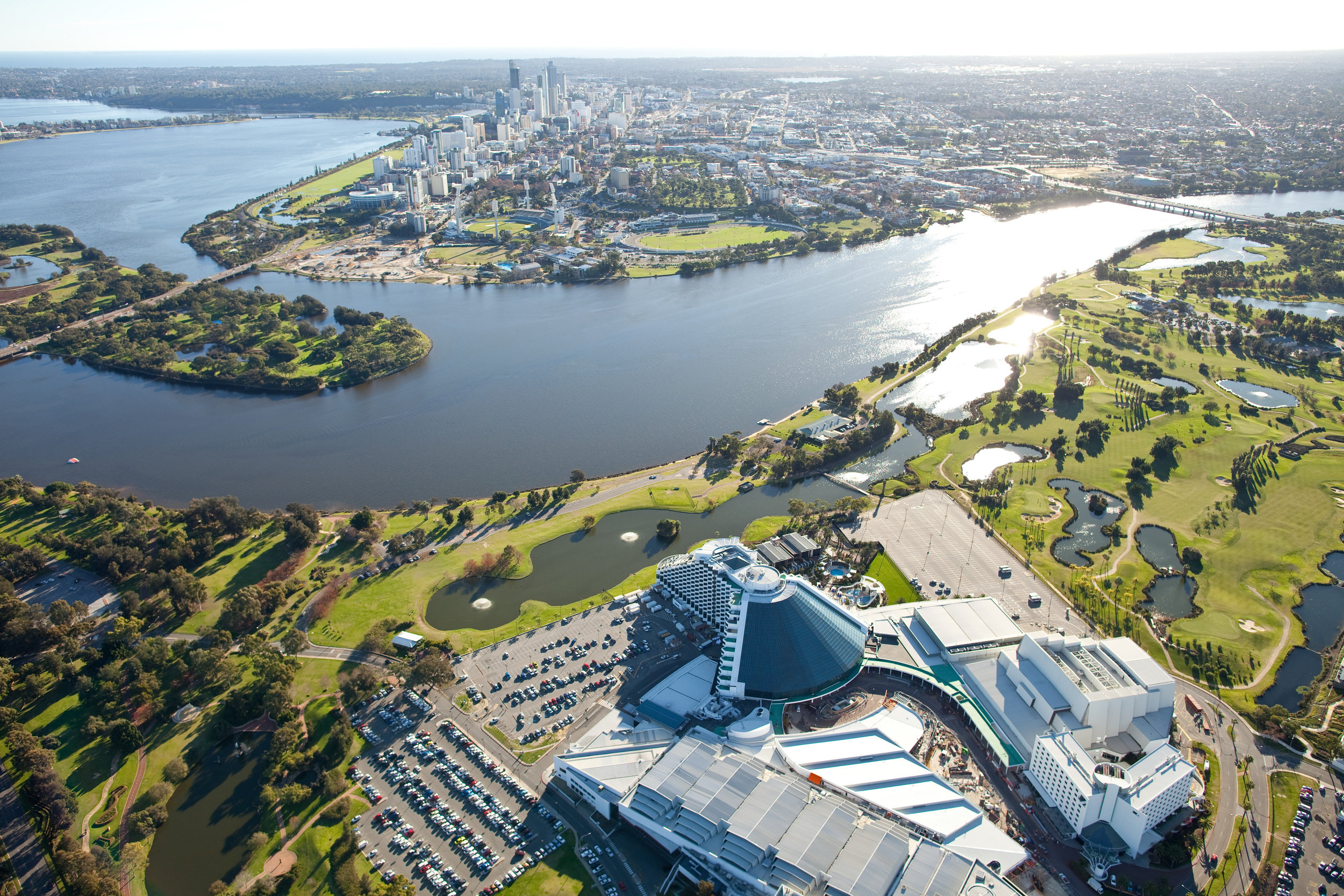 Crown Perth & Swan River