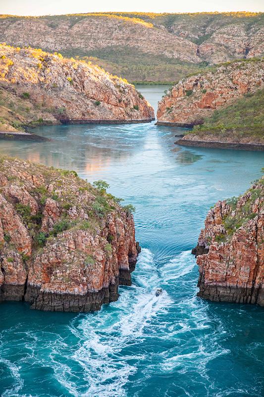The Horizontal Waterfalls