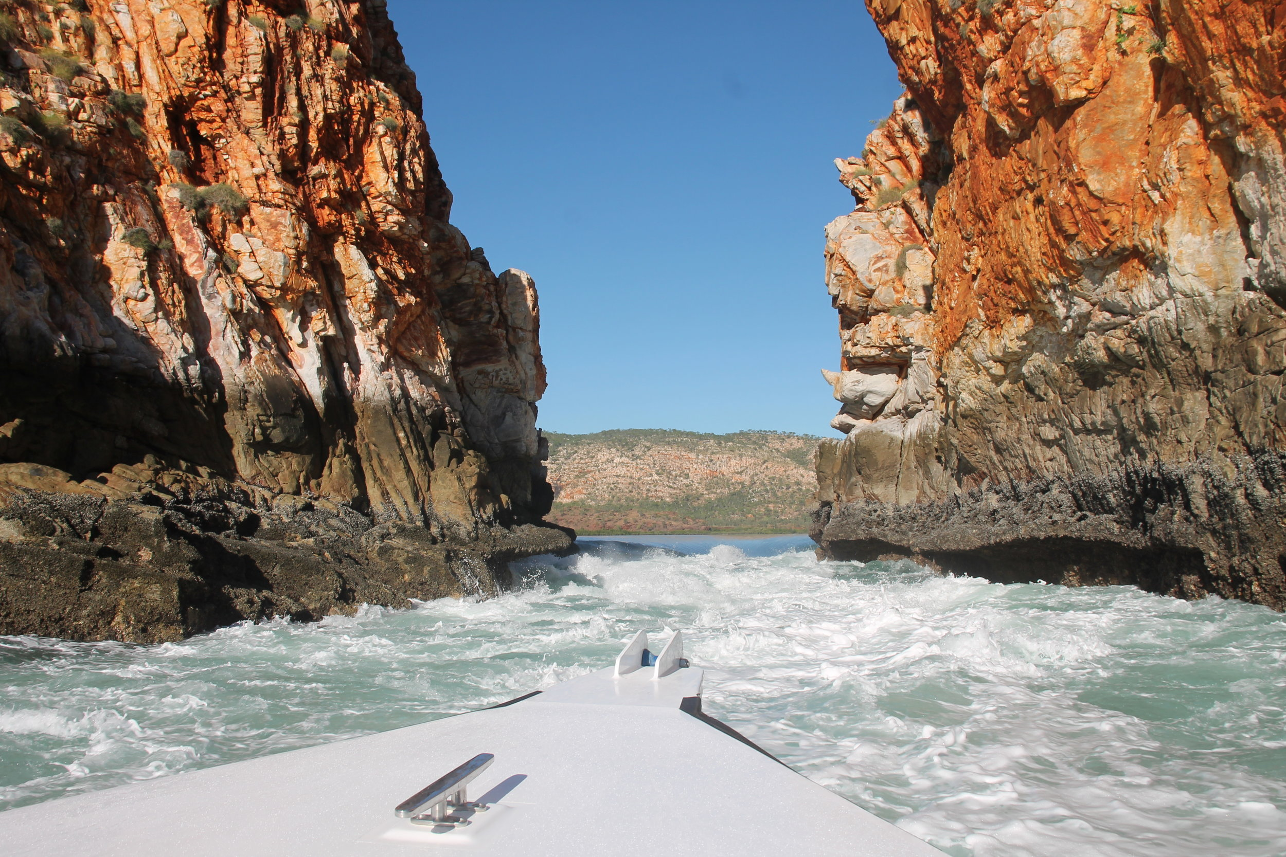 Fast-Boat Ride through the Horizontal Falls