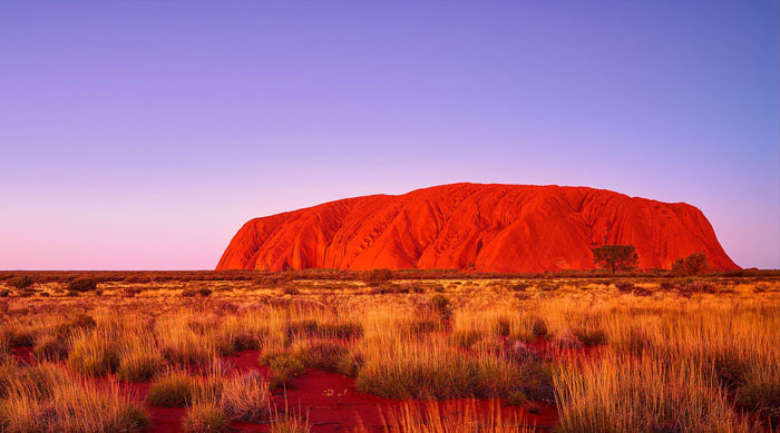 Ayers Rock at Sunset