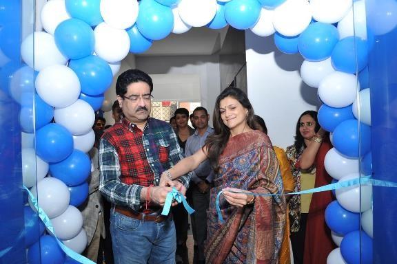 Mpower centre was launched by  Mrs Neerja Birla , Founder and Chairperson, Mpower. She was accompanied by  Mr Kumar Mangalam Birla , Chairman, The Aditya Birla Group.