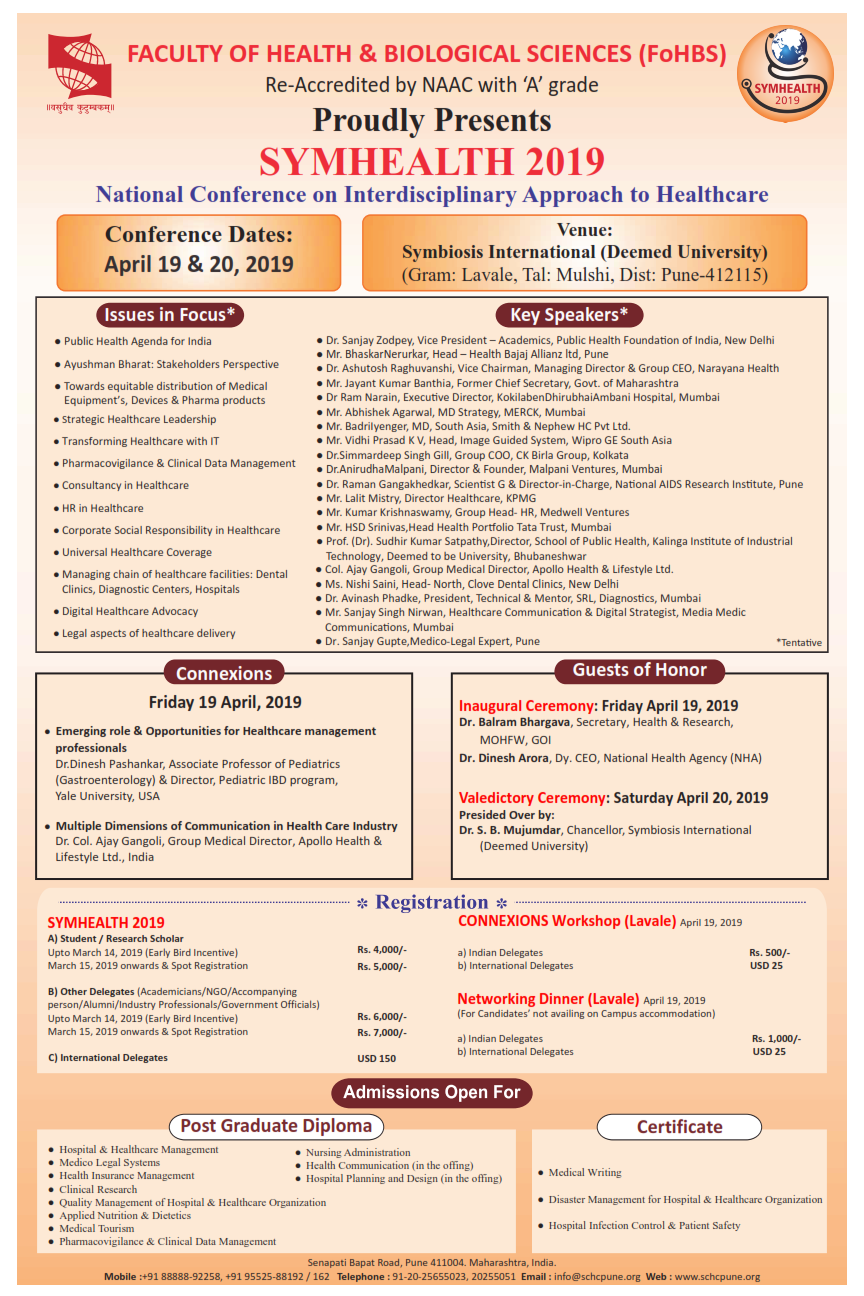 National Conference on Interdisciplinary Approach to