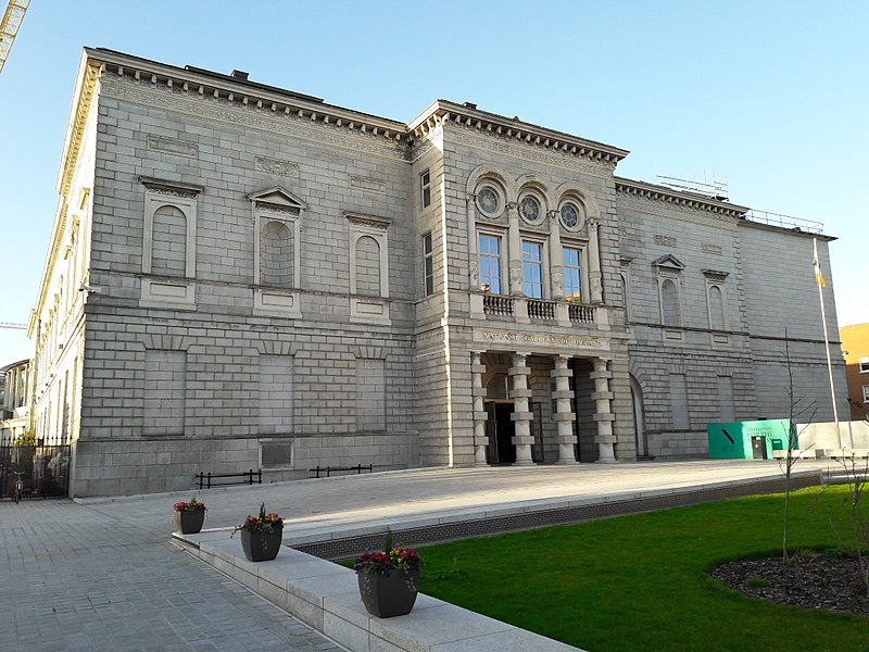 The National Gallery of Ireland. Image Credit: Wikipedia.