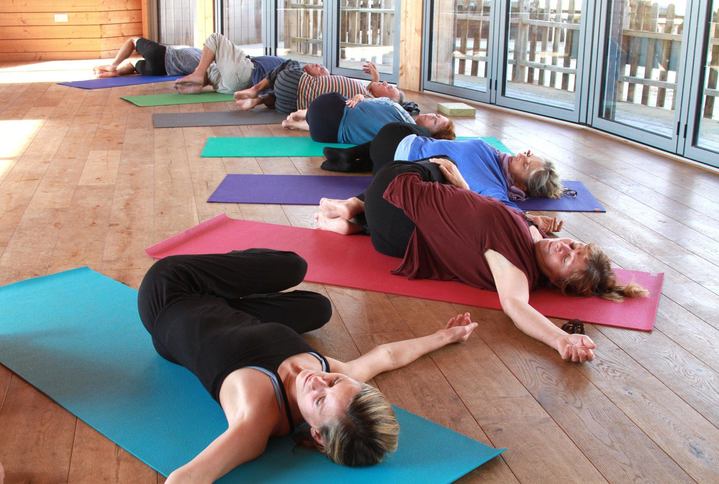 studio classes - yoga
