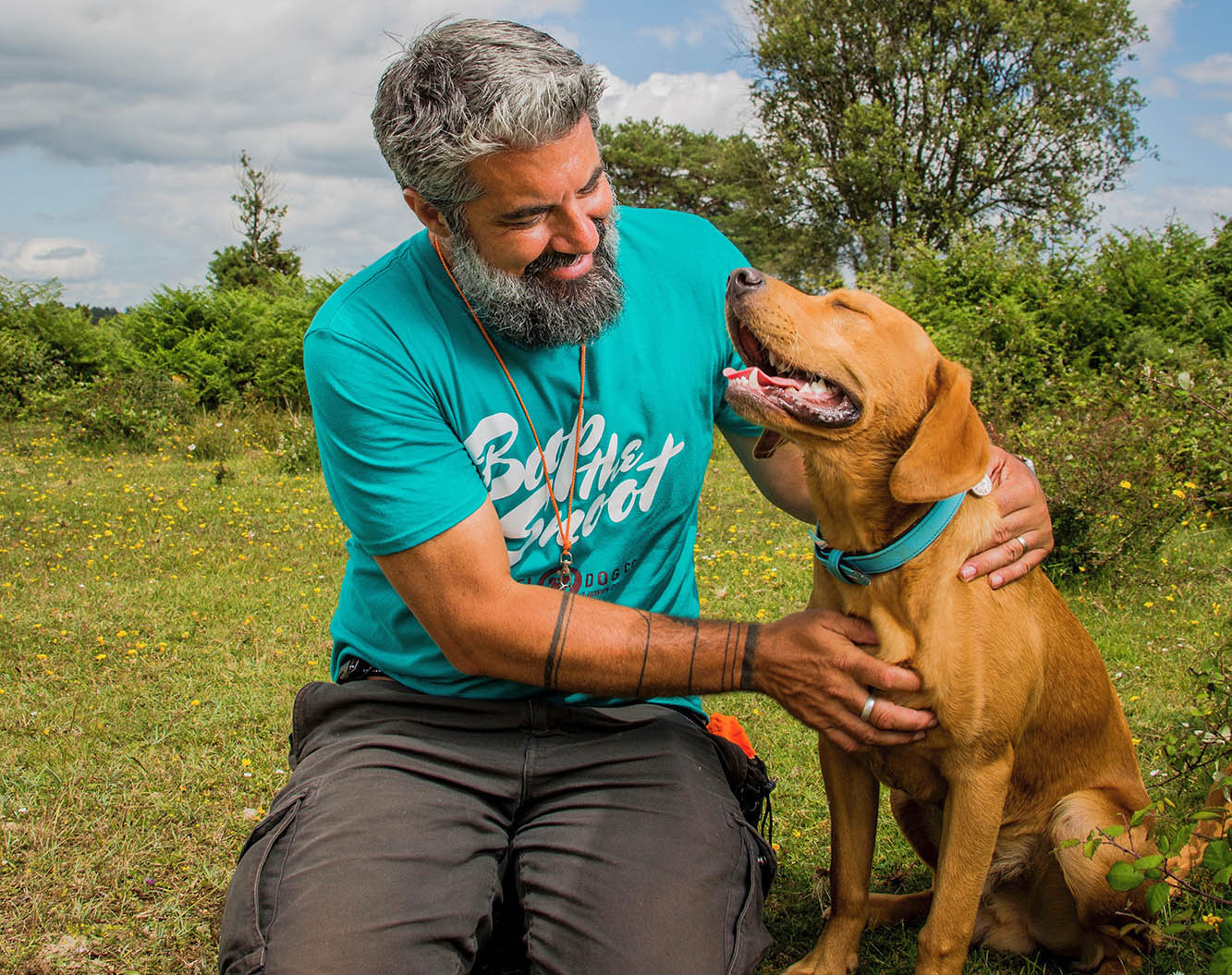 Rewarding a dog with lots of positive praise is great (but treats are usually better!)