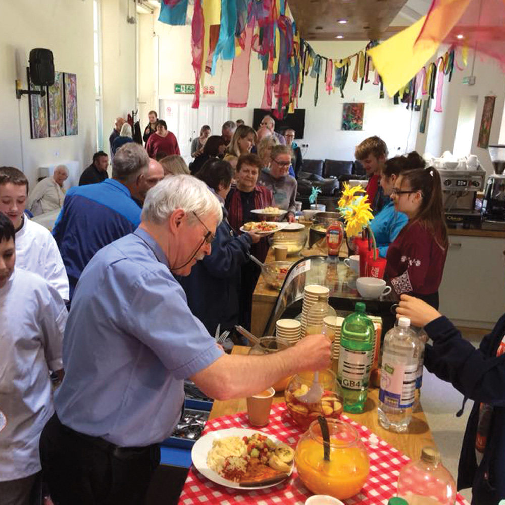 Youth-Cafe-Penryn - Cooking - Highway Church - Cornwall