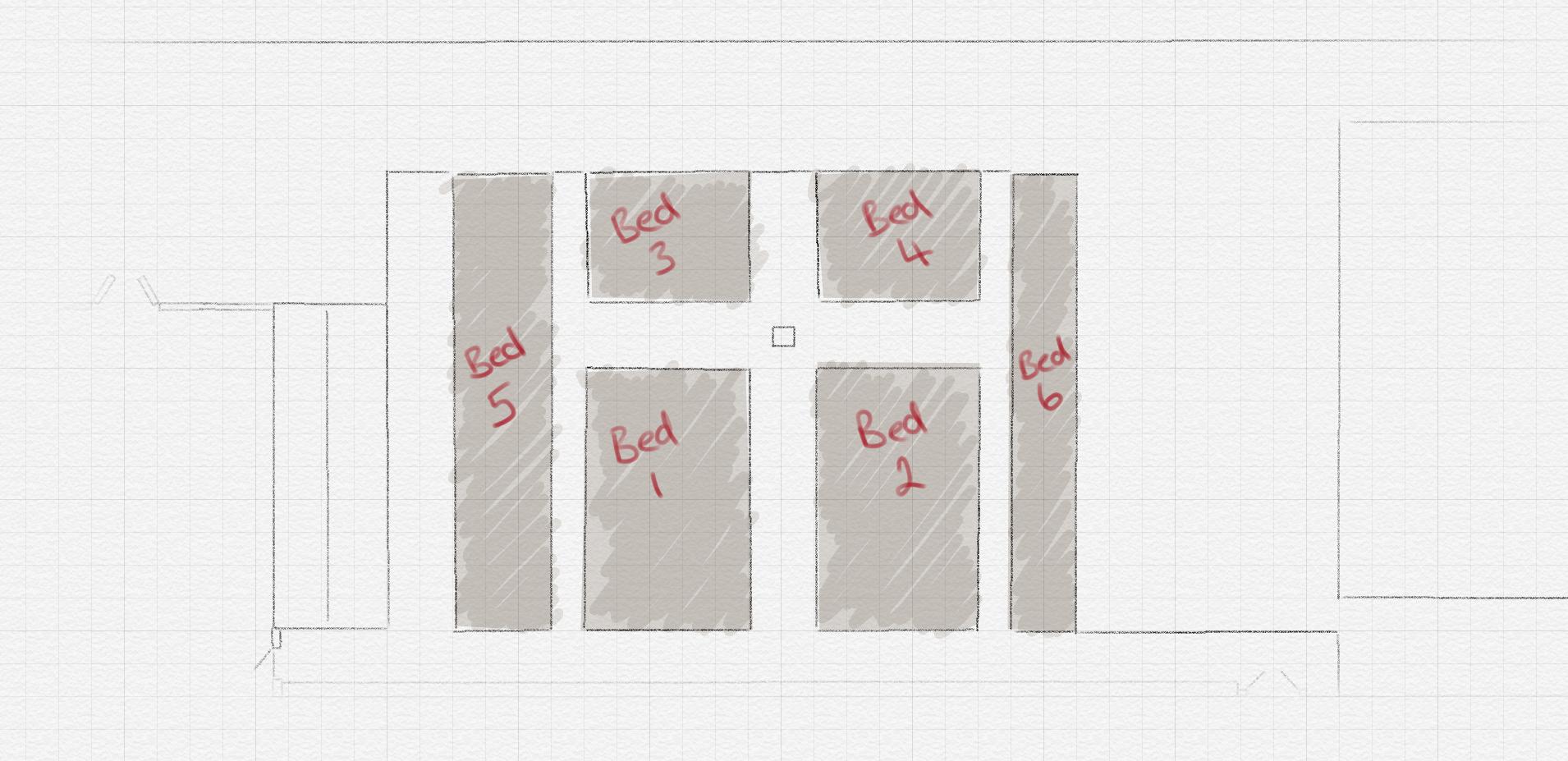 1 square = 1 m²