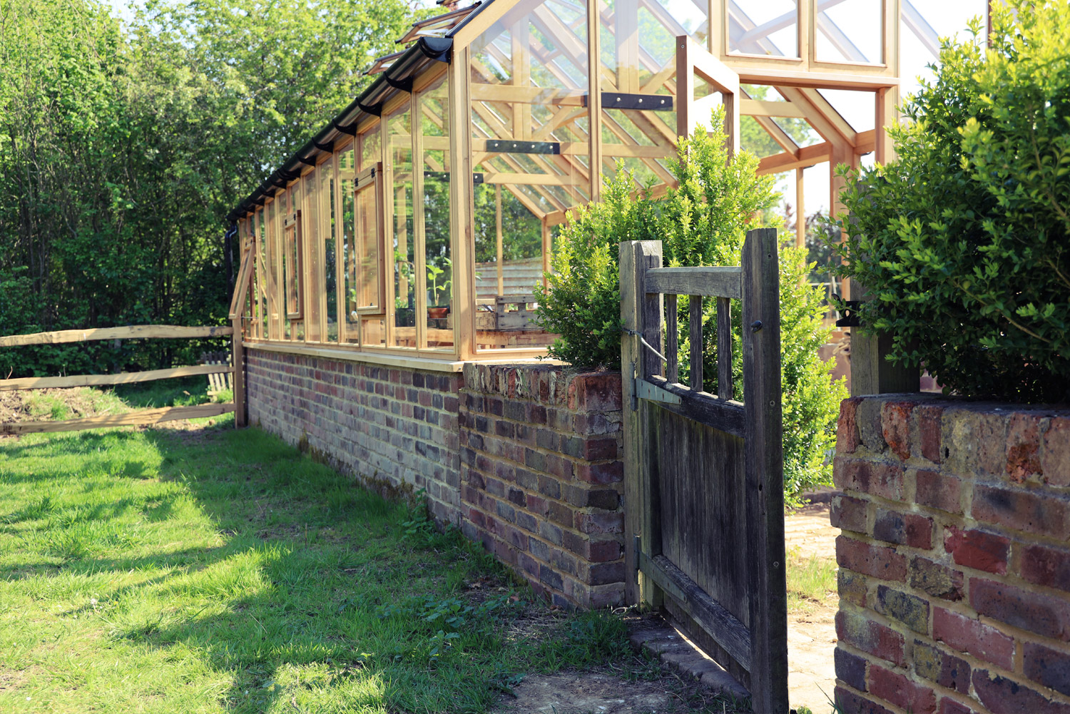 The new Greenhouse was installed in February and is now being put to good use as we enter spring.