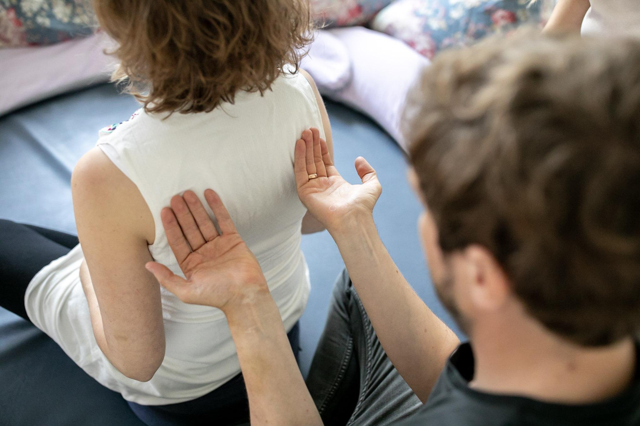Light-Touch-Massage; Foto: Eila Lifflander