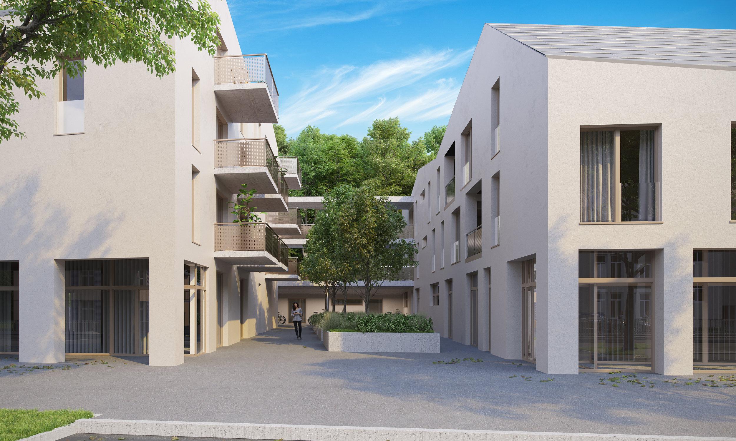 Mariatrosterstraße 212 - VERKAUFT! Keine Wohnung mehr verfügbar!24 Wohnungen im Zentrum von Graz Mariatrost