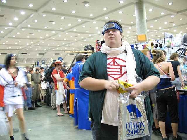 This Choji cosplayer cracked me up! Full story on Flickr.