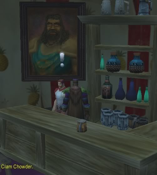 This is the part of  Warcraft  nobody talks about; giving shopkeepers handjobs for gold pieces. This needs to stop, people. THIS IS A SERIOUS ISSUE. Totally consensual but it just encourages them to keep their prices high! Dude in that painting knows what's up.