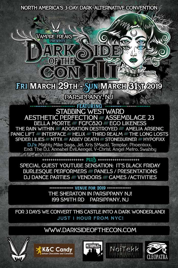 Dark Side of the Con 3 flyer