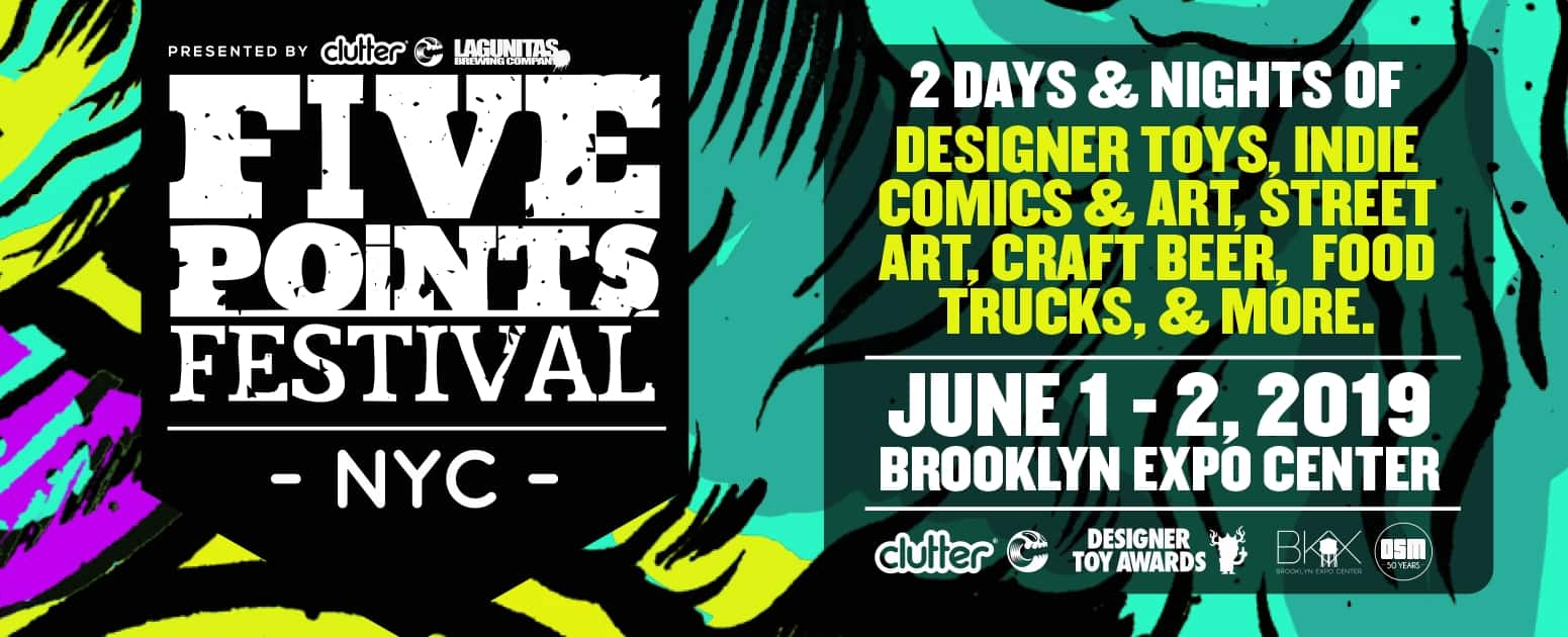 Five Points Festival Flyer