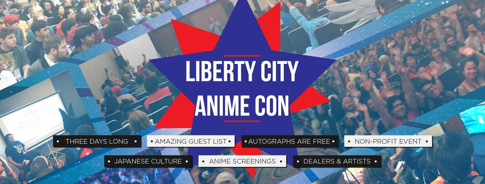Liberty City Anime Con logo