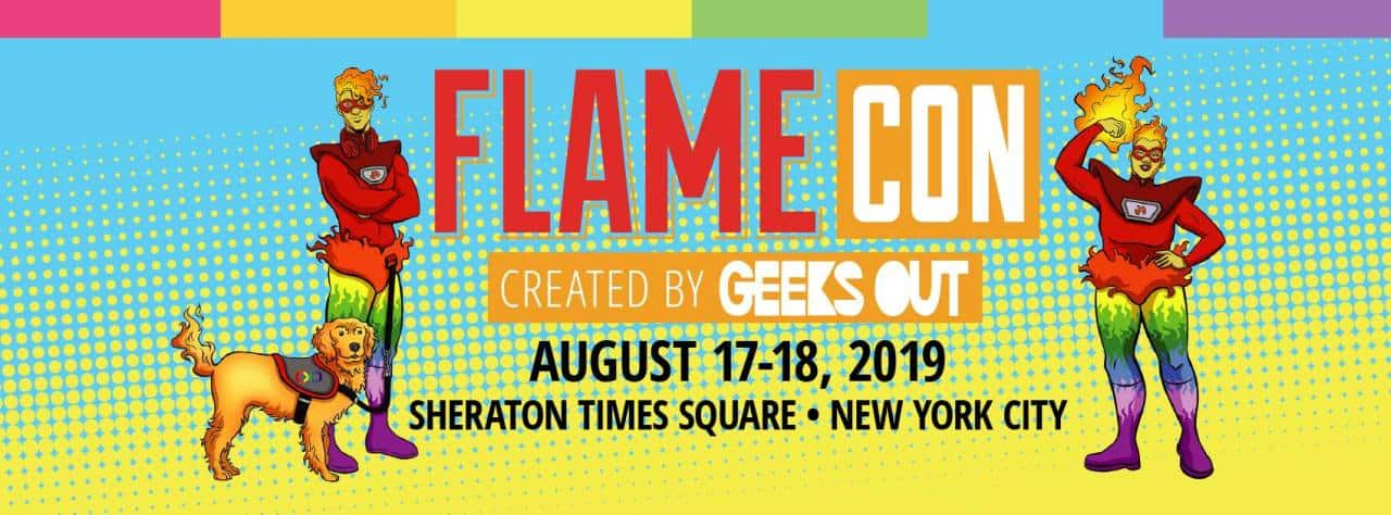 Flame Con 2019 logo
