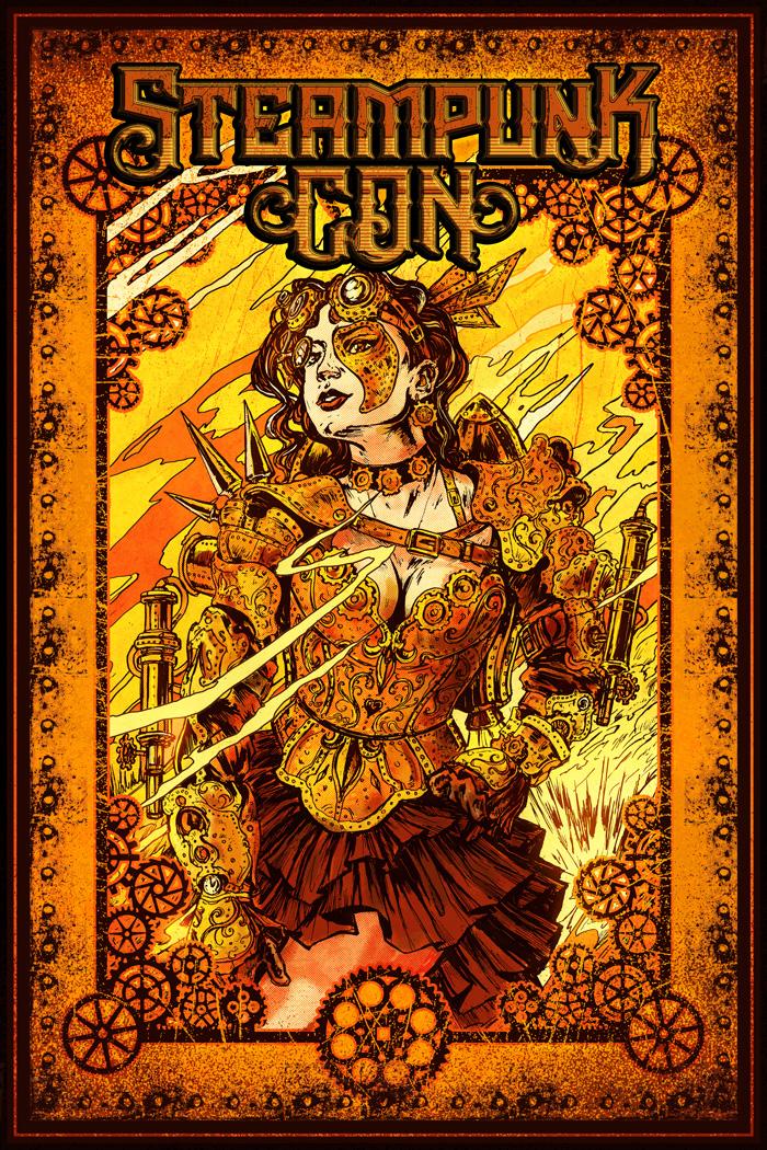 Steampunk Con poster