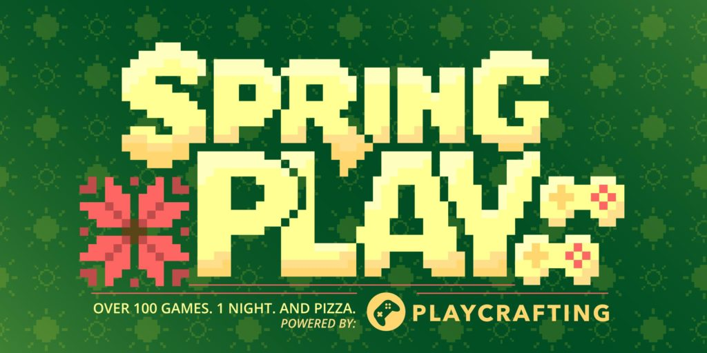 Playcrafting Event Flyer