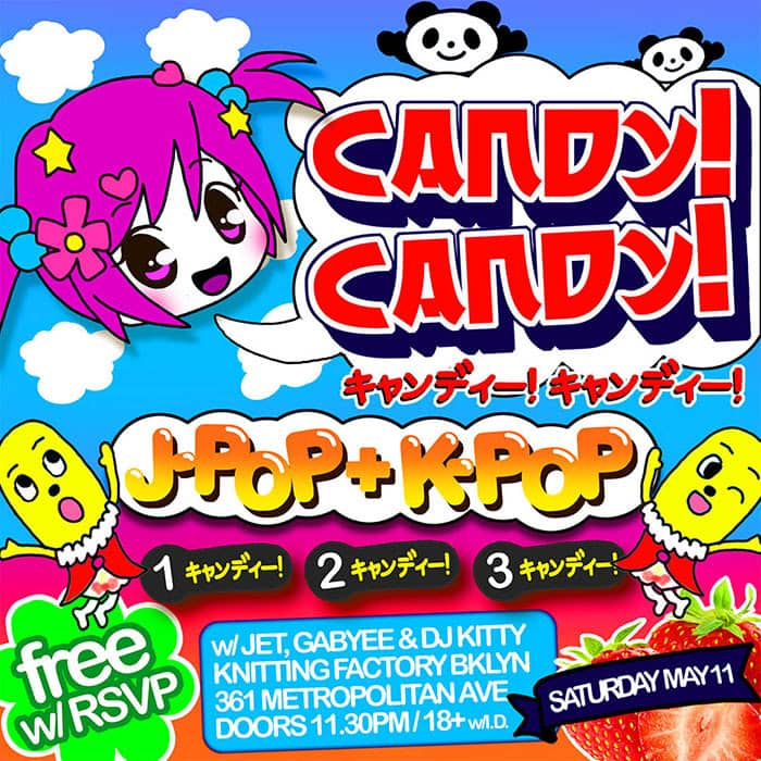 Candy! Candy! Event Flyer
