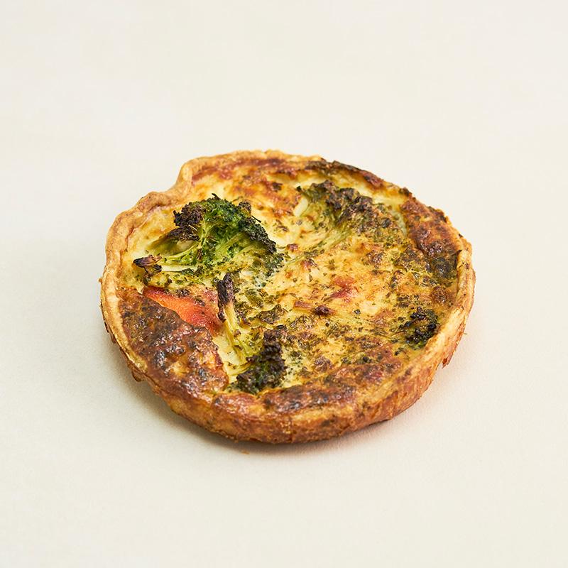 Lohi-Broccoli Quiche