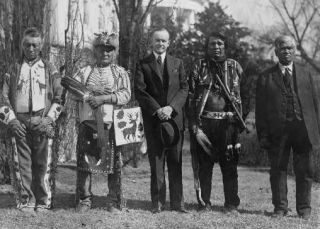 Rights to Vote - June 2, 1924, Congress granted citizenship to all Native Americans born in the U.S. Yet even after the Indian Citizenship Act, some Native Americans weren't allowed to vote because the right to vote was governed by state law.Yes, Native Americans were given the right to vote in the Voting Rights Act of 1965; before that time different states disallowed them to vote for different reasons. Until 1957, some states barred Native Americans from voting. Let's Pow Wow the Vote … Be part of history.