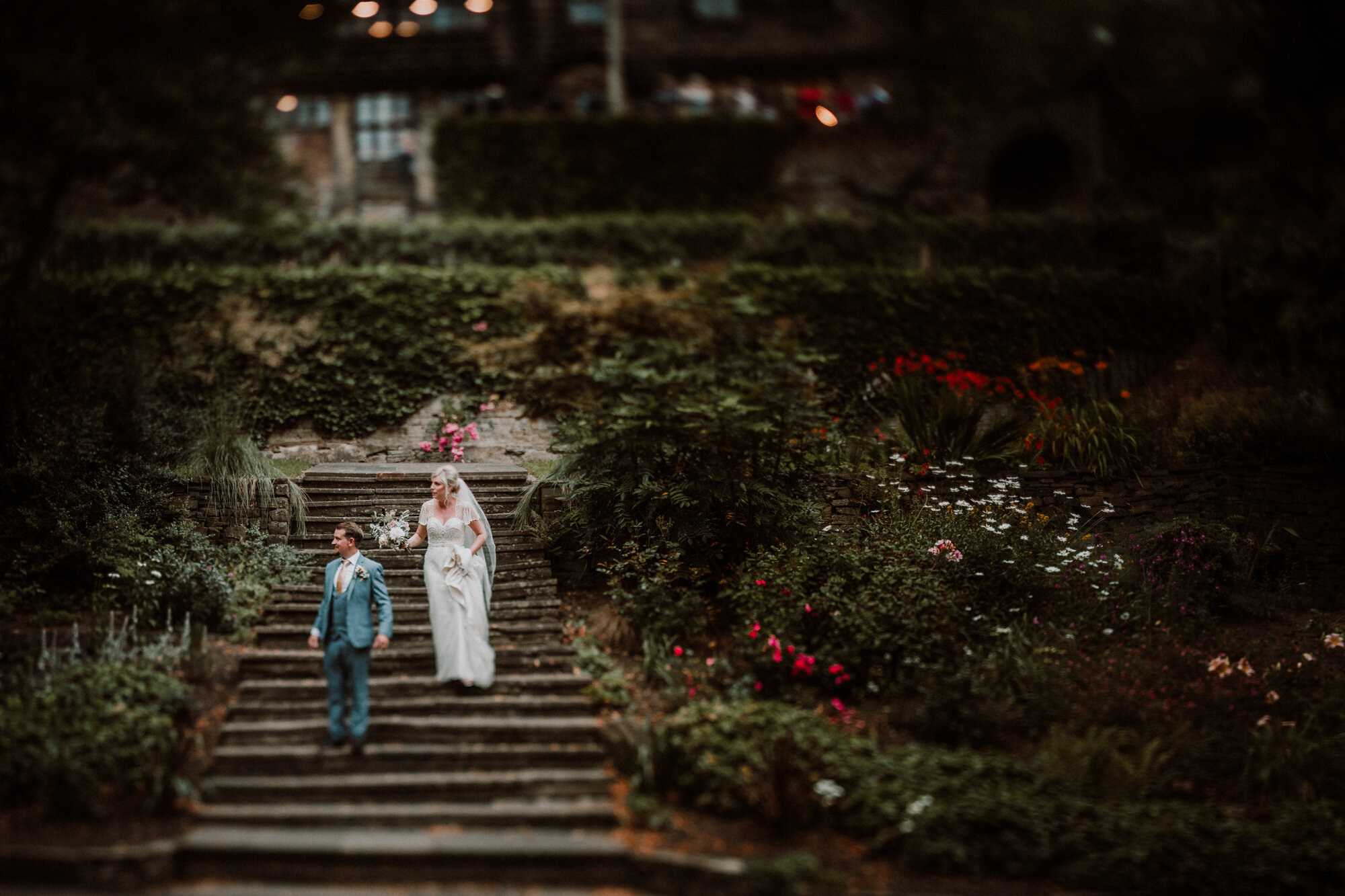 non- traditional wedding photographer engagement photographer yorkshire u.k. creative outdoor location portrait photography North Yorkshire leeds ripon york alternative wedding photography elopement photographer destination photographer tilt shift photography