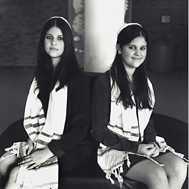 #filmisnotdead #hasselblad #batmitzvah #twins #mediumformat