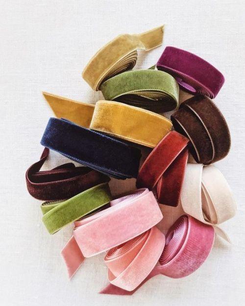 Velvet Ribbon Dreams - via Pinterest