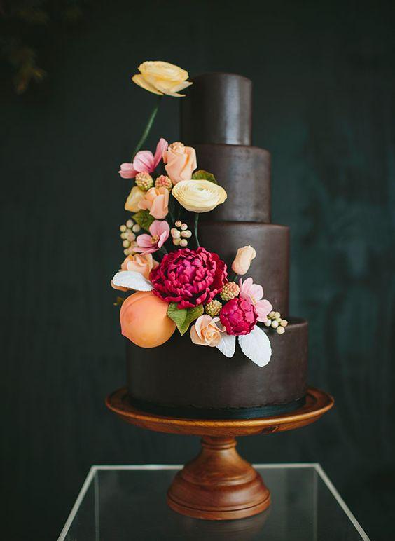 Berry-Hued Dessert! - via Pinterest