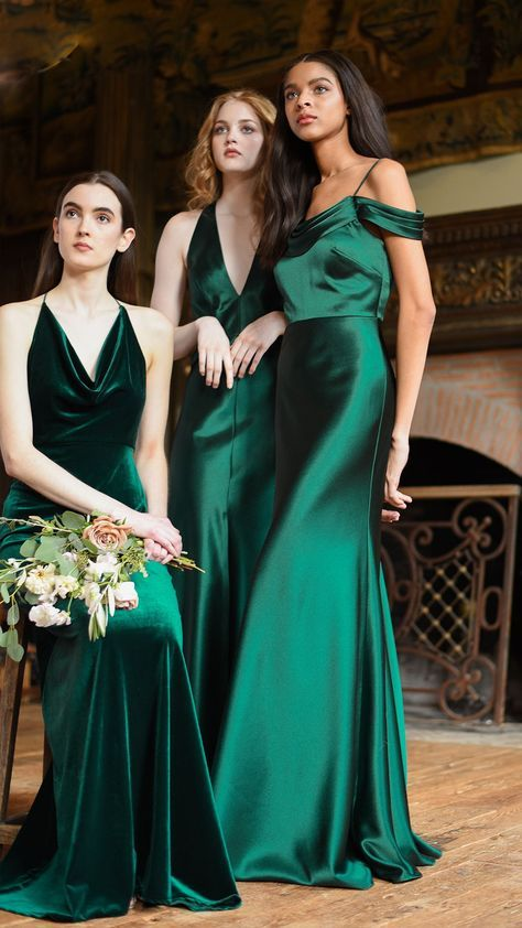 The emerald gowns of our dreams - via Pinterest